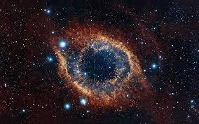 "(The ""God's Eye"" helix nebula -  pic taken by by the European Southern Observatory's VISTA telescope  http://www.space.com/14282-helix-nebula-eye-amazing-photo.html )"