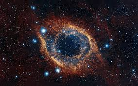 "(The ""God's Eye"" helix nebula -  pic taken by by the European Southern Observatory's VISTA telescope  http://www.space.com/14282-helix-nebula-eye-amazing-photo.html )"