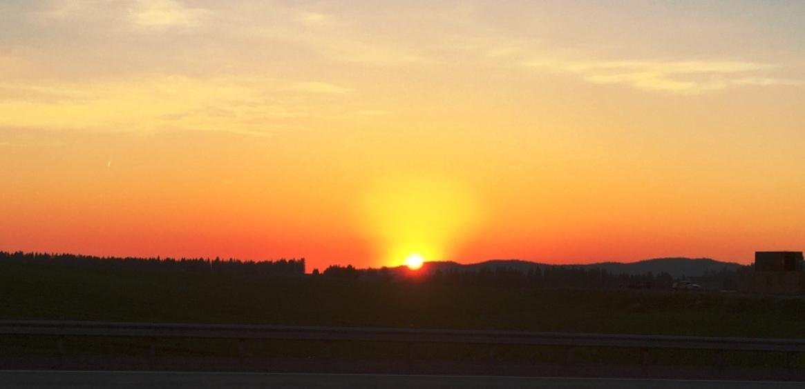 Coeur 'd Alene Sunset