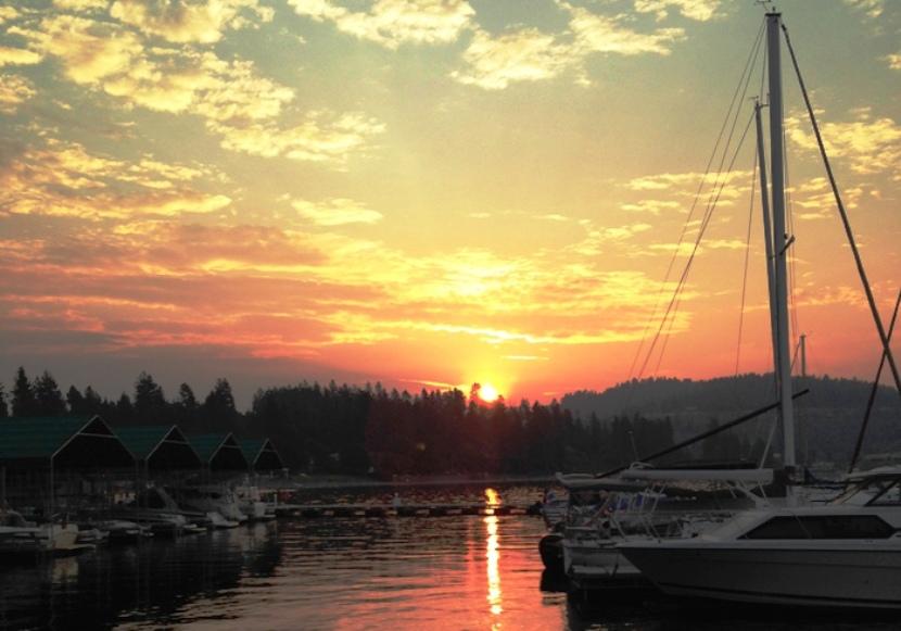 Cda Lake Sunrise